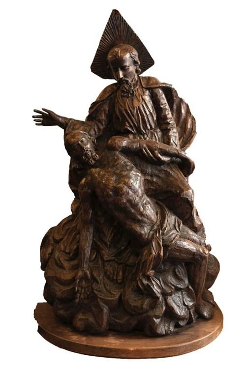 Rzeźba do salonu artysty Artysta Nierozpoznany pod tytułem Pieta (XVIII w.)