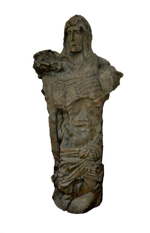 Rzeźba do salonu artysty Artysta Nierozpoznany pod tytułem Pieta (I połowa XX wieku)