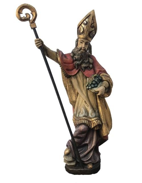Rzeźba do salonu artysty Artysta Nierozpoznany pod tytułem Święty Mikołaj (II poł. XIX wieku)