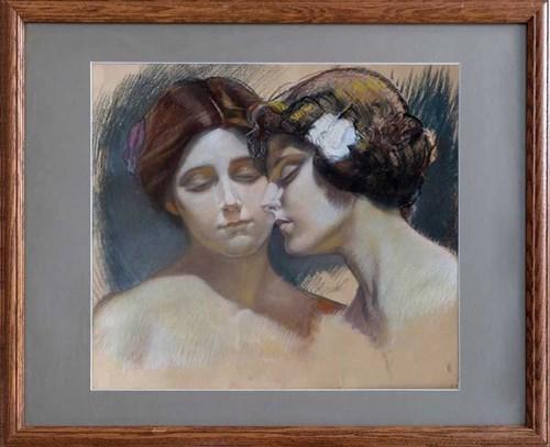 Obraz do salonu artysty Artysta Nierozpoznany pod tytułem Belle Epoque, I poł XX w.