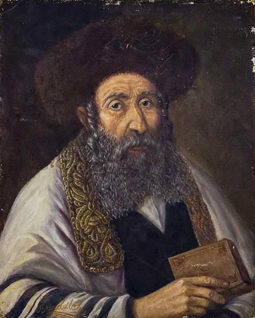 Obraz do salonu artysty Artysta Nierozpoznany pod tytułem Uczony w piśmie, II poł. XIX w.
