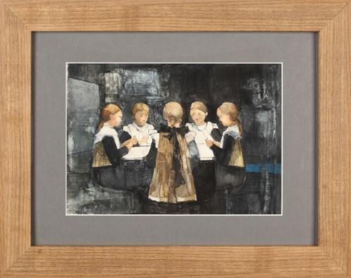 Obraz do salonu artysty Małgorzata Rozmarynowska pod tytułem Moja rodzina