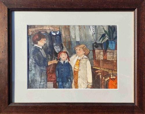 Obraz do salonu artysty Małgorzata Rozmarynowska pod tytułem Rok szkolny 1968