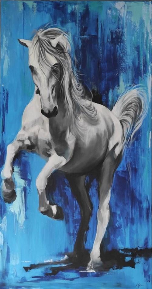 Obraz do salonu artysty Katarzyna Łagódka pod tytułem Blue