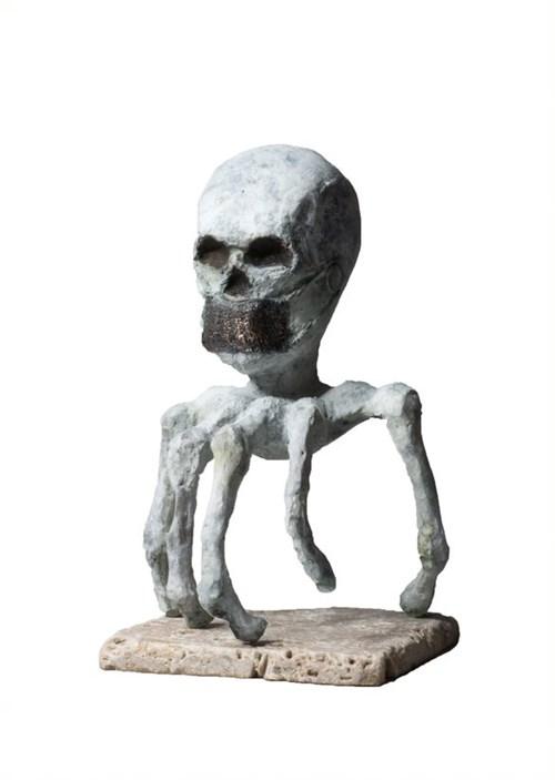 Rzeźba do salonu artysty Bartłomiej Śnieciński pod tytułem Social Relations