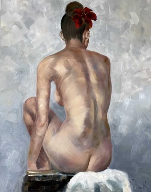 Obraz do salonu artysty Katarzyna Panko pod tytułem The Scarlet Flower