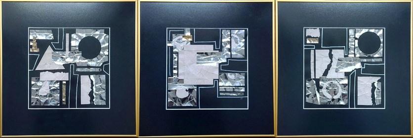 Obraz do salonu artysty Joanna Daniło pod tytułem Nie wszystko złoto, co się świeci