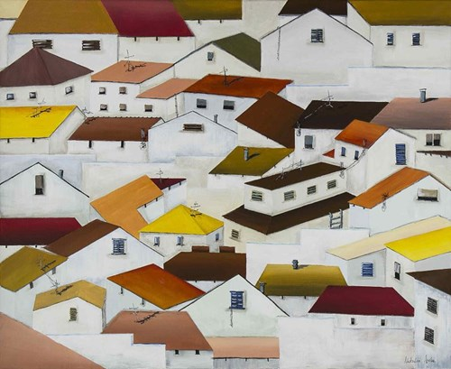 Obraz do salonu artysty Natalia Sroka pod tytułem Ledrada z cyklu El Pueblo
