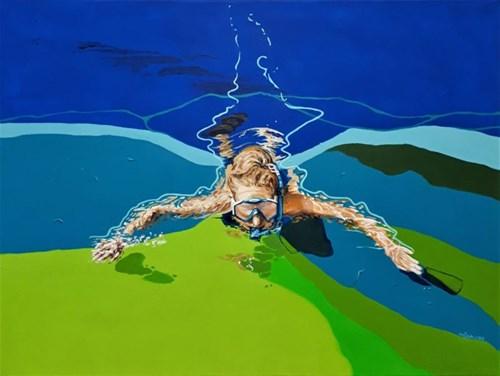 Obraz do salonu artysty Izabela Sak pod tytułem Wakacyjny Luz