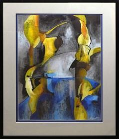 Obraz do salonu artysty Ryszard Miłek pod tytułem Kompozycja