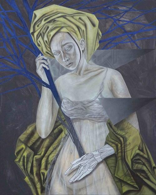 Obraz do salonu artysty Monika Kusak-Leśniak pod tytułem Planta Cobalta
