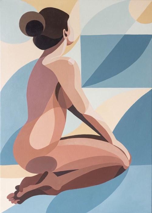 Obraz do salonu artysty Aleksandra Bukowska pod tytułem Widok