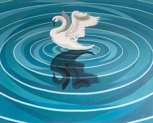 Obraz do salonu artysty Aleksandra Bukowska pod tytułem Odbicia