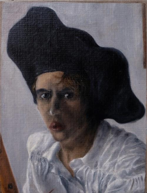 Obraz do salonu artysty Piotr Uklański pod tytułem Autoportret w białym stroju, ok. 1985