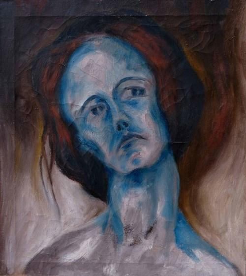 Obraz do salonu artysty Piotr Uklański pod tytułem Portret kobiety