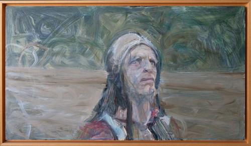 Obraz do salonu artysty Norman Leto pod tytułem Kinski
