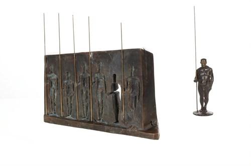 Rzeźba do salonu artysty Jan Leusha pod tytułem Droga