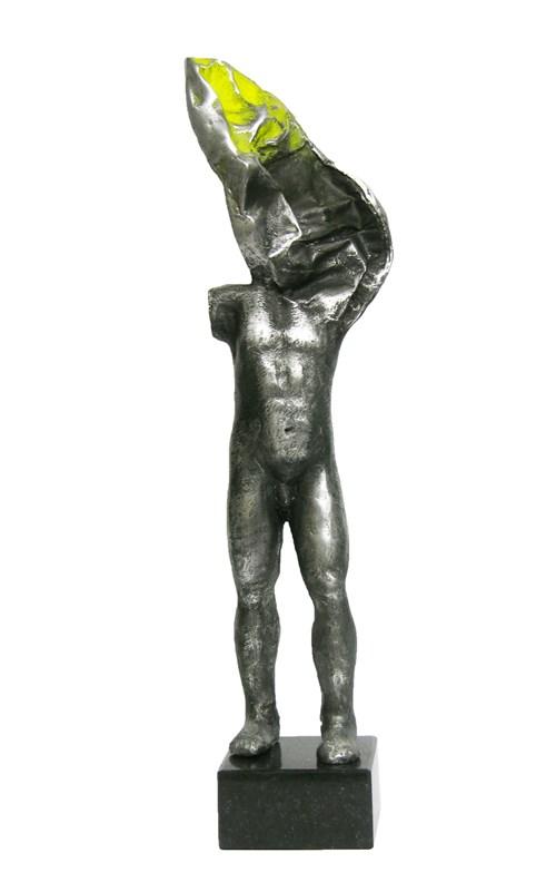 Rzeźba do salonu artysty Sylwia Caban pod tytułem Anioł