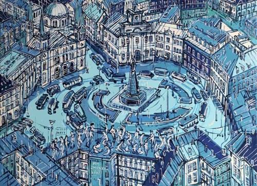Obraz do salonu artysty Joanna Mieszko pod tytułem Łódź