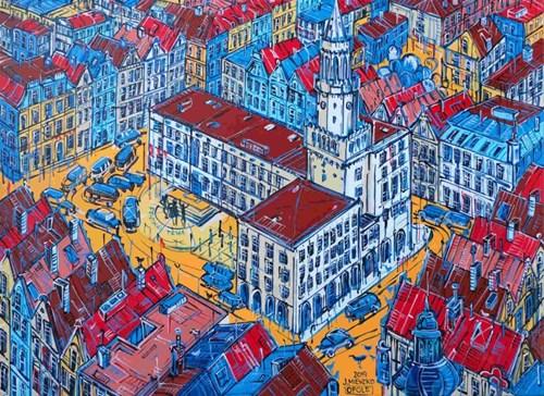 Obraz do salonu artysty Joanna Mieszko pod tytułem Opole
