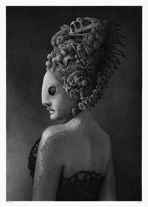 Obraz do salonu artysty Patryk Adach pod tytułem Bez tytułu 2