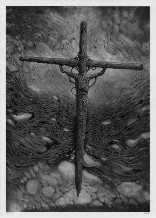 Obraz do salonu artysty Patryk Adach pod tytułem Bez tytułu 3