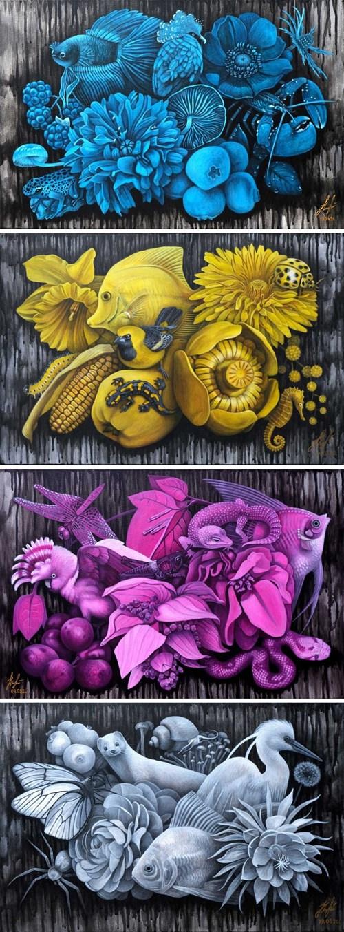 Obraz do salonu artysty Olena Lytvynenko pod tytułem Poliptyk