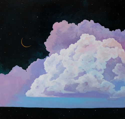 Obraz do salonu artysty Anies Murawska pod tytułem Golden Moon