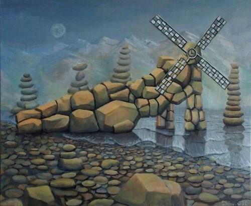 Obraz do salonu artysty Szymon Dąbrowski pod tytułem Trwanie