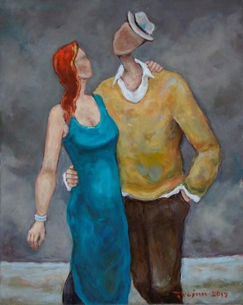 Obraz do salonu artysty Henryk Trojan pod tytułem Forever