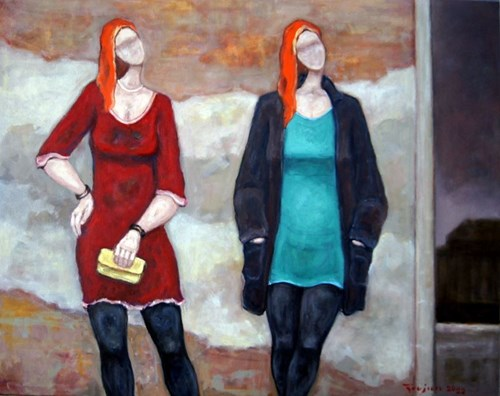 Obraz do salonu artysty Henryk Trojan pod tytułem Święte z Barcelony