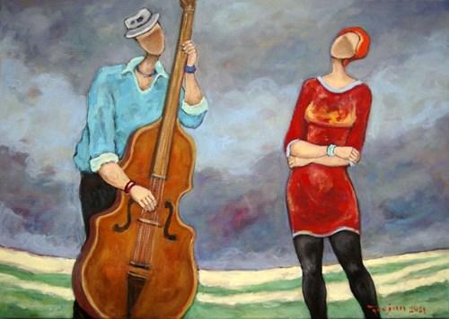Obraz do salonu artysty Henryk Trojan pod tytułem Koncert