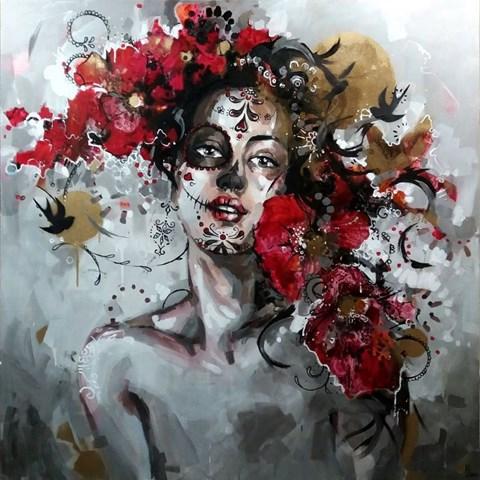 Obraz do salonu artysty Kamila Jarecka pod tytułem Między światami
