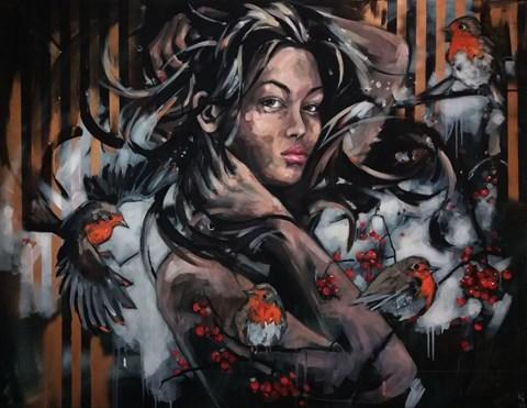 Obraz do salonu artysty Kamila Jarecka pod tytułem Rudziki