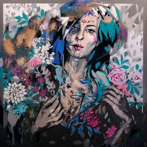 Obraz do salonu artysty Kamila Jarecka pod tytułem Dragonfly z cyklu między światami
