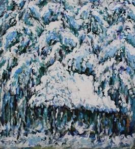 Obraz do salonu artysty Adam Bojara pod tytułem Zima