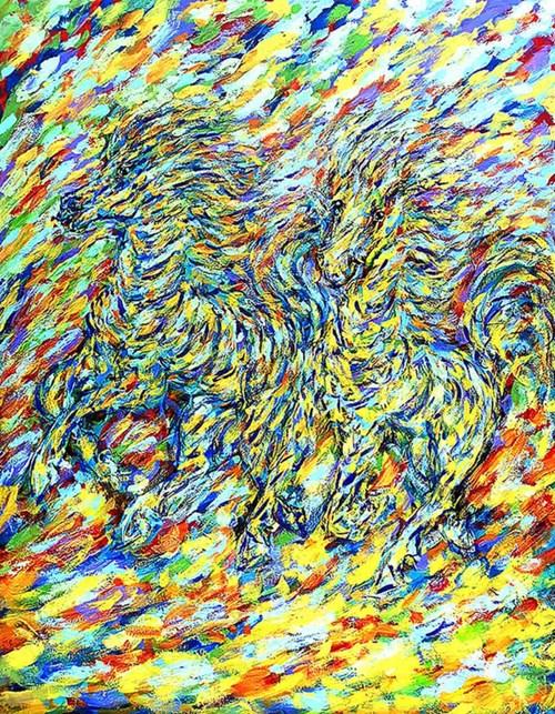 Obraz do salonu artysty Adam Bojara pod tytułem K28