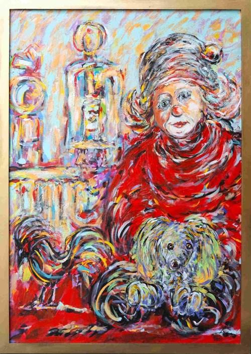 Obraz do salonu artysty Adam Bojara pod tytułem Życie