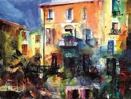 Obraz do salonu artysty Krzysztof Ludwin pod tytułem Owernia