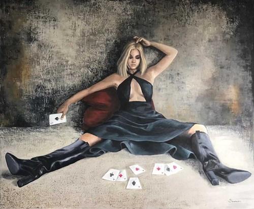 Obraz do salonu artysty Ewa Sławniewicz pod tytułem Il Mio Gioco