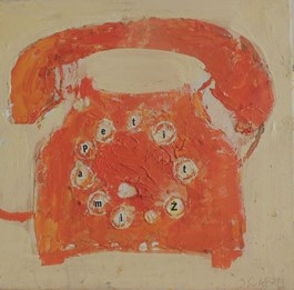 Obraz do salonu artysty Jolanta Caban pod tytułem Telefon