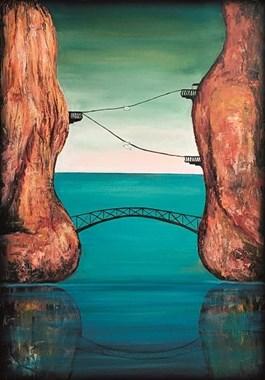 Obraz do salonu artysty Sabina Maria Grzyb pod tytułem Integracja IV