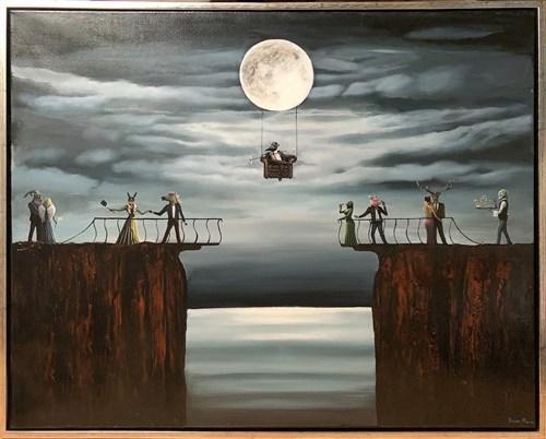 Obraz do salonu artysty Sabina Maria Grzyb pod tytułem Maskarada