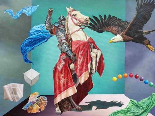 Obraz do salonu artysty Wiesław Haładaj pod tytułem Tranquitility