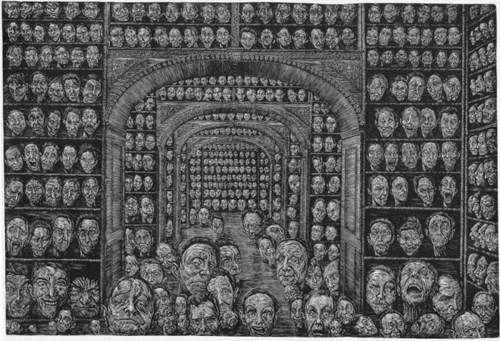 Grafika do salonu artysty Wiesław Haładaj pod tytułem Collector's items