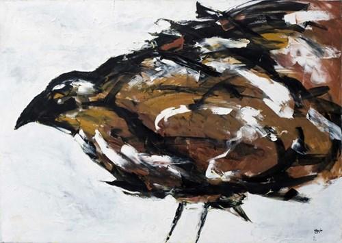 Obraz do salonu artysty Iwona Ostrowska pod tytułem Ptak