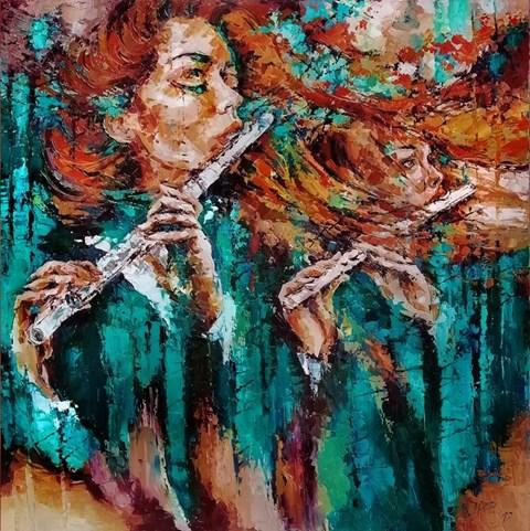 Obraz do salonu artysty Krystyna Róż-Pasek pod tytułem Majestat