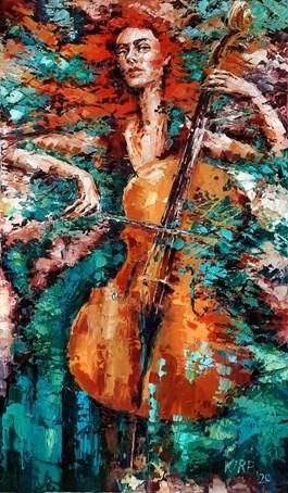 Obraz do salonu artysty Krystyna Róż-Pasek pod tytułem Kredo