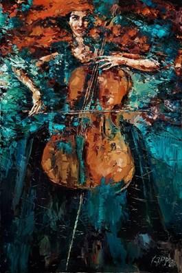 Obraz do salonu artysty Krystyna Róż-Pasek pod tytułem Sprawiedliwość