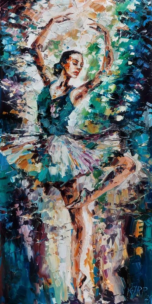 Obraz do salonu artysty Krystyna Róż-Pasek pod tytułem Chwila uniesienia